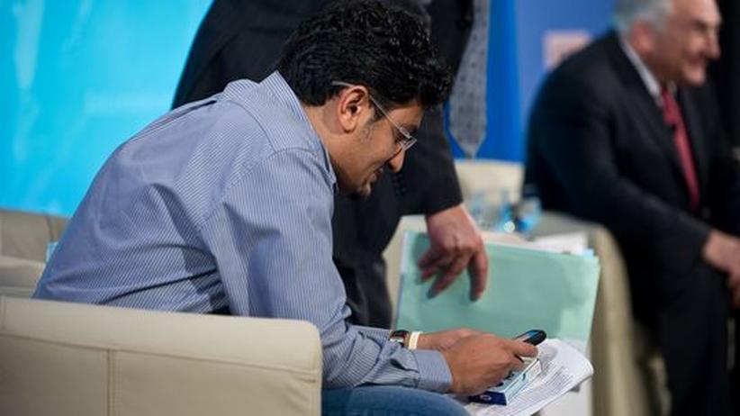 """Digitale Identität: Der Ägypter und Google-Mitarbeiter Wael Ghonim hat die einflussreiche Facebook-Gruppe """"We are all Khaled Said"""" begründet – unter Pseudonym."""