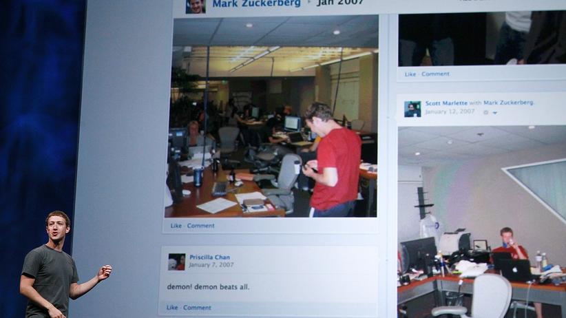 Soziales Netzwerk: Bei Facebook ist Vergessen nicht mehr vorgesehen