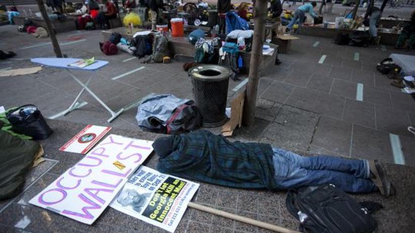 "Occupy Wall Street: ""Die Wall Street gehört uns"""