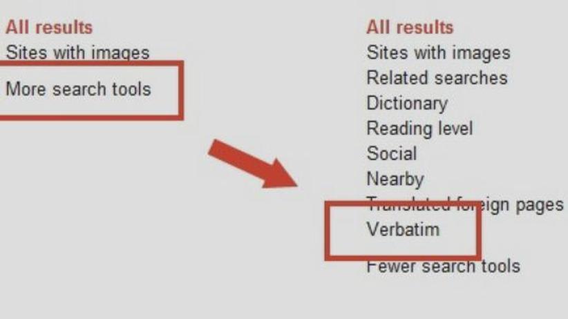 Suchmaschine: Neue Google-Funktion nimmt Nutzer wörtlich