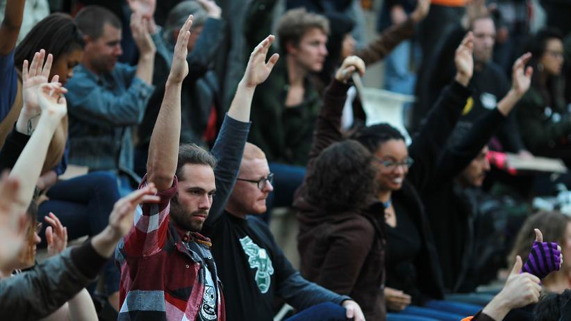 Protest: Occupy lebt Basisdemokratie vor