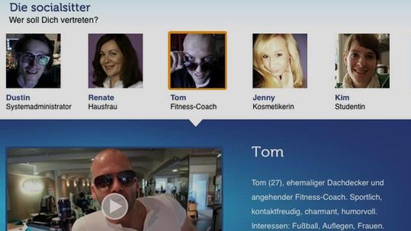 """""""Social Sitter""""-App: Die App Social Sitter stammt von einer Werbeagentur."""