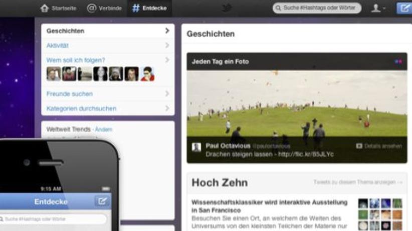 Soziale Netzwerke: Twitter will das simple Facebook werden