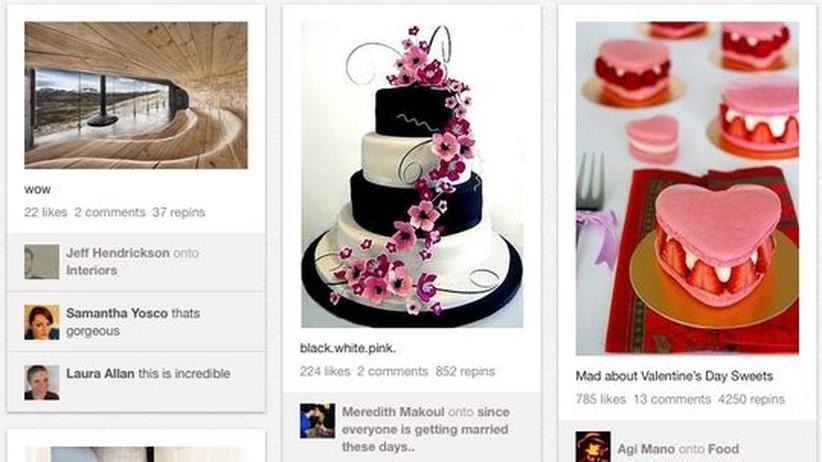 Pinterest: Ein soziales Netzwerk aus schönen Bildern