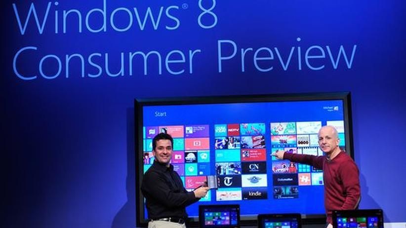Microsoft: Wer will, kann ab sofort Windows 8 testen