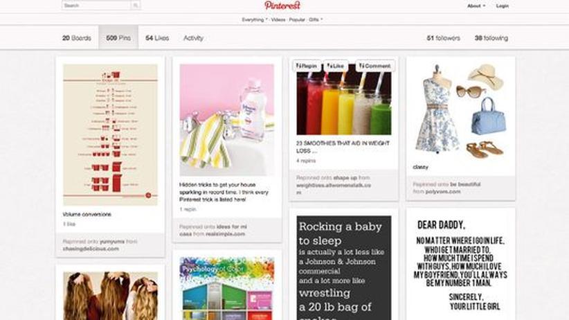 Pinterest: Der weibliche Klick