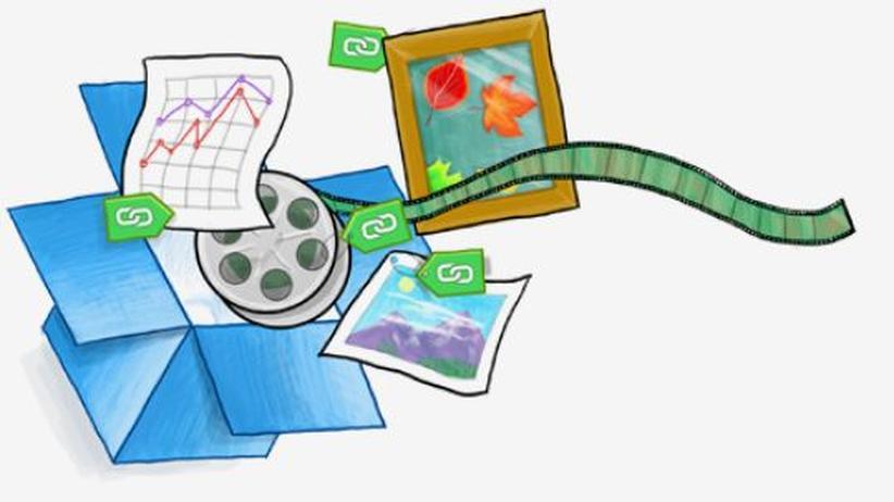 Urheberrecht: Dropbox wird zum Filesharing-Portal