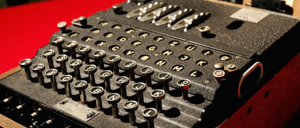 Enigma, die Verschlüsselungsmaschine der deutschen Wehrmacht