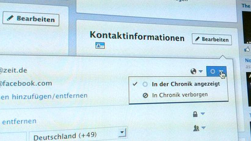 Opt-out-Verfahren: Facebook nötigt Nutzern seine Mail-Adresse auf