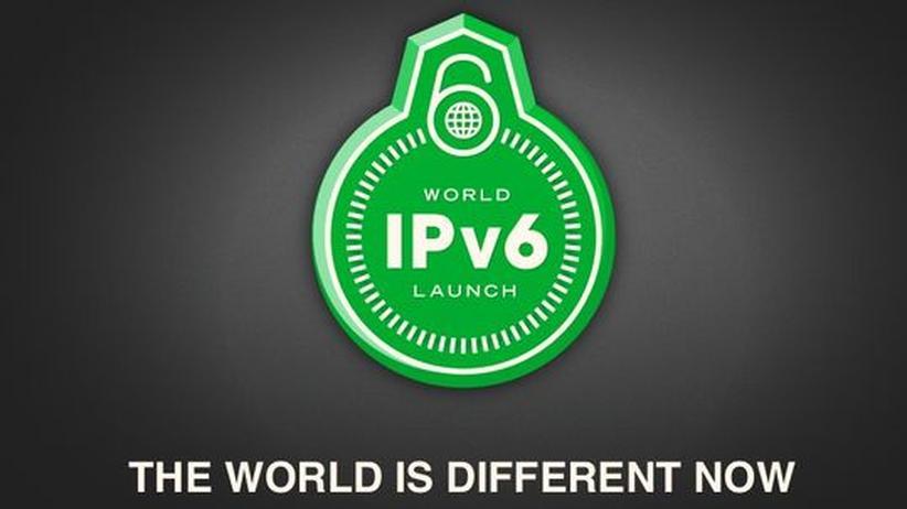 IPv6: Website der Internet Society am 6. Juni 2012