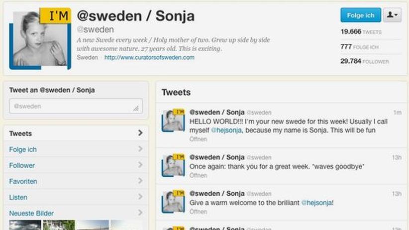 Tourismus: Twittern im Namen von ganz Schweden