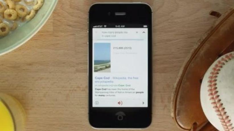 Sprachsteuerung: Google macht Apple auf dem iPhone Konkurrenz