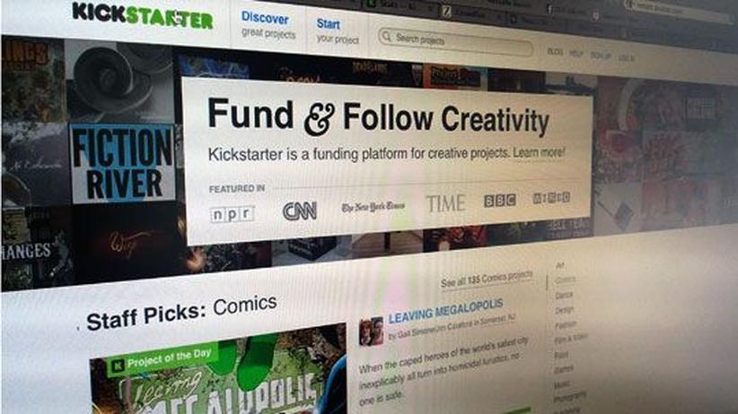 Crowdfunding: Kickstarter versteckt erfolglose Projekte