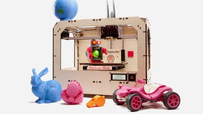 3D-Drucker: Waffen für alle zum Herunterladen