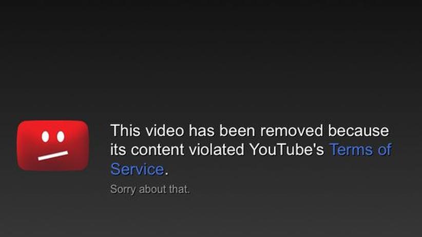 YouTube: Nicht Google sollte die Filter-Regeln bestimmen