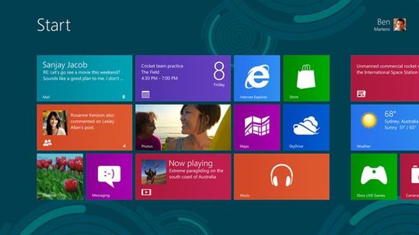 Windows 8: Gewöhnungsbedürftiger Wechsel zwischen den Windows-Welten