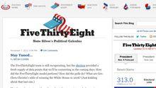 Der politische Taschenrechner, das Blog von Nate Silver