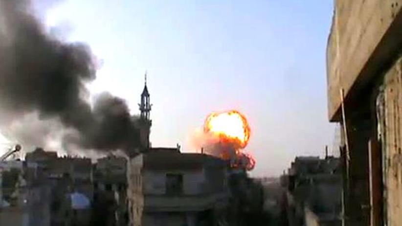 Informationskrieg: Syriens Regierung klemmt das Land vom Internet ab
