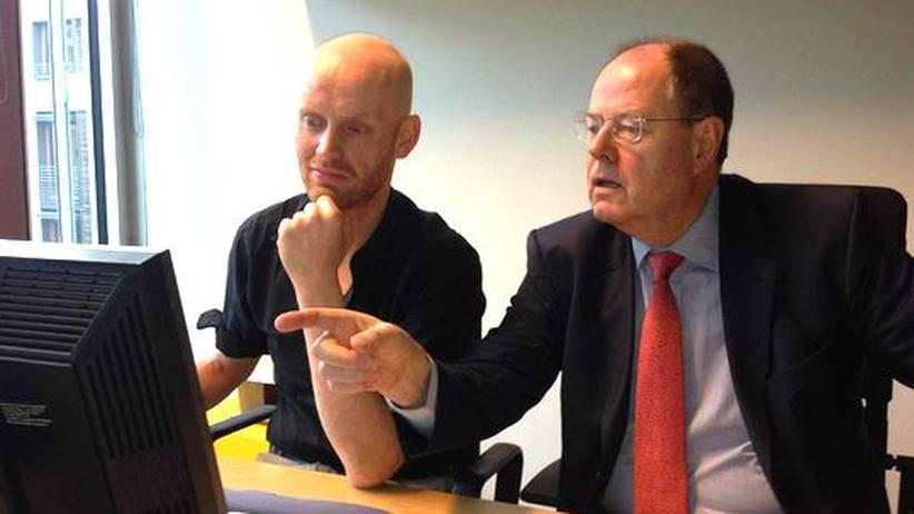 Wahlkampf: Peer Steinbrück lässt twittern