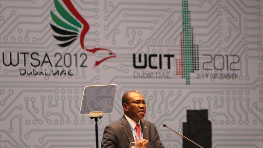 Hamadoun Toure bei der World Conference on International Telecommunications (WCIT) in Dubai