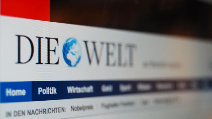 """Internetmedien: """"Welt Online"""" lässt die Bezahlschranke runter"""