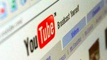 Webseite von YouTube