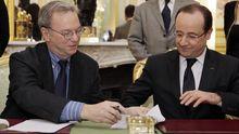 Schmidt und Hollande