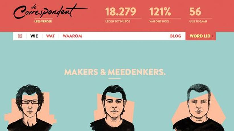 Onlinemagazin: Die Leser bezahlen ihre eigenen Korrespondenten