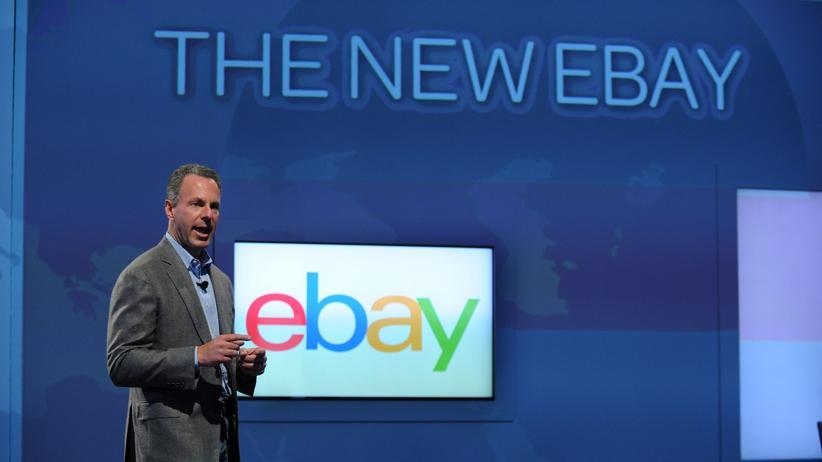 2012 gab sich Ebay ein neues Aussehen und neue Funktionen. Hier Präsident Devin Wenig bei der Vorstellung