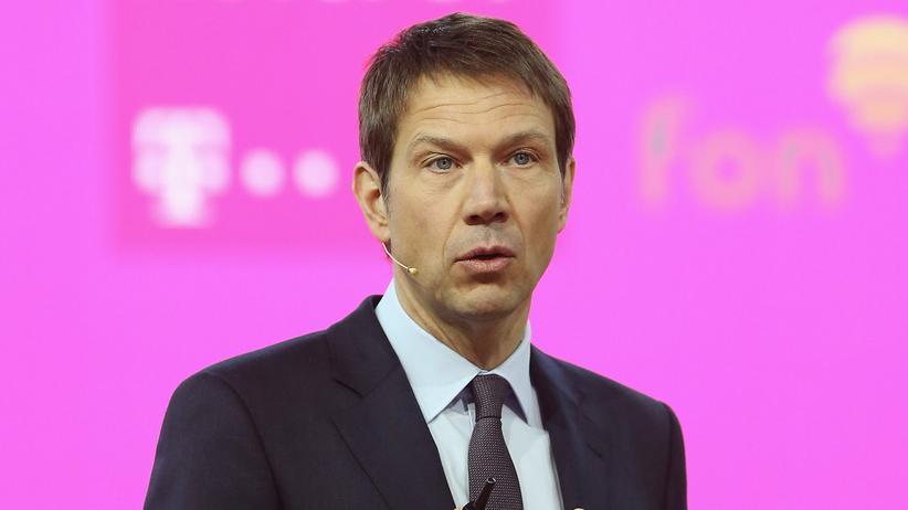 Rene Obermann, Chef der Deutschen Telekom