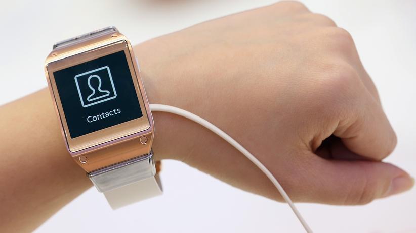 Datensammler am Handgelenk, eine Smartwatch von Samsung