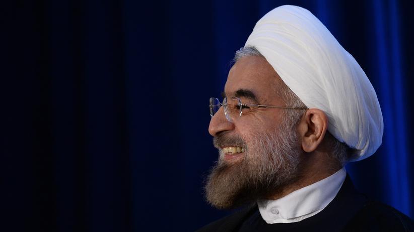 Irans Präsident Hassan Ruhani in New York