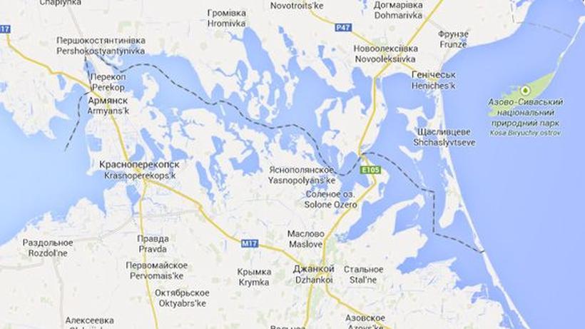 Google Maps: Grenzen wie sie gefallen | ZEIT ONLINE