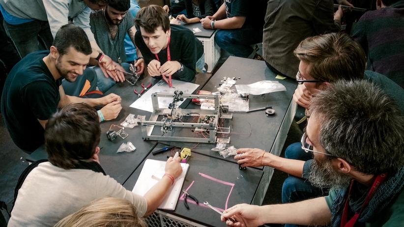 3-D-Druck: Workshop auf der re:publica