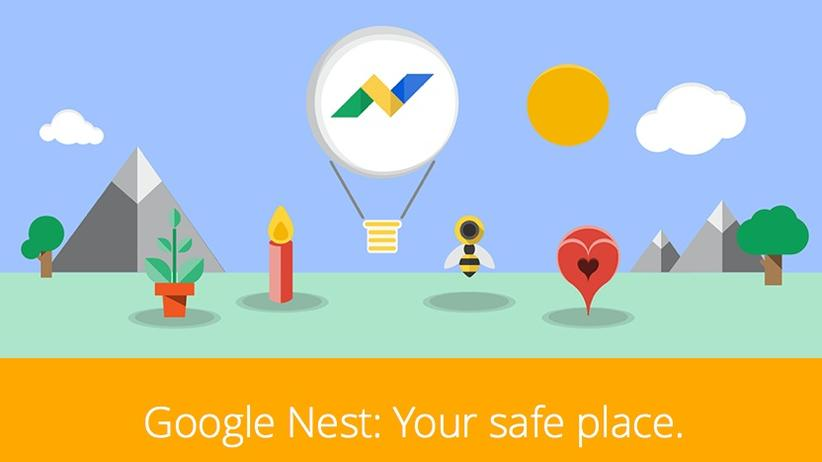 Google Nest: Screenshot der Satire-Website google-nest.org