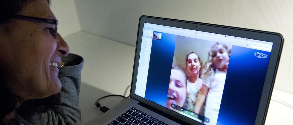 Videochat mit Skype – bald auch mit Übersetzung.