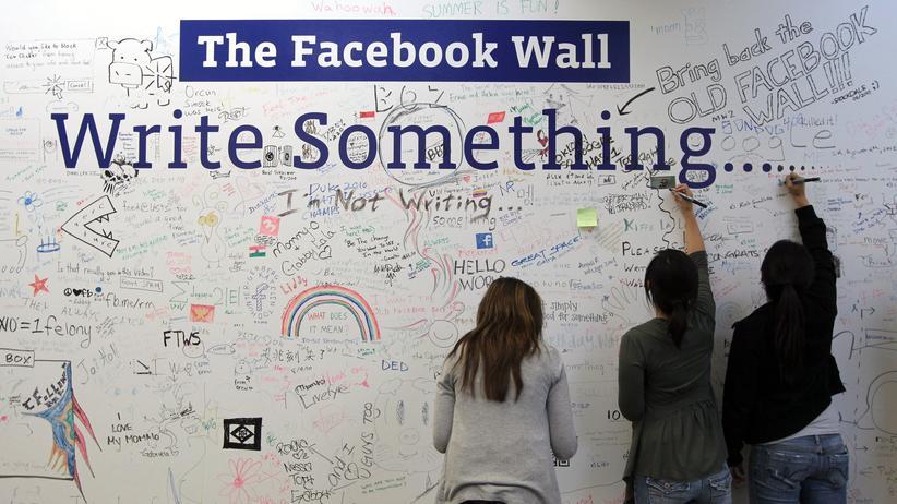 Facebook-Studie: Im Facebook-Hauptquartier in Palo Alto