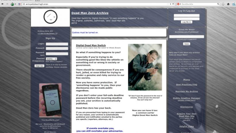 Dead Man Zone: Totmannschalter im Tor-Netzwerk