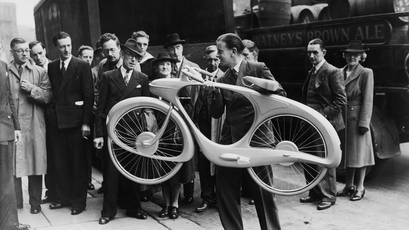 Damals war die Crowd noch kritischer: Nur wenige Exemplare von B.G. Bowdens Fahrrad aus dem Jahr 1946 wurden tatsächlich gebaut.