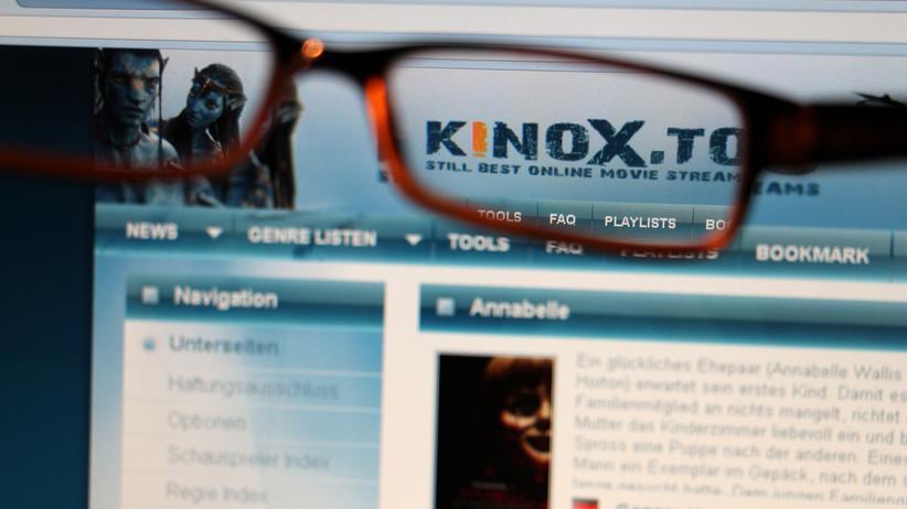 Illegales Streamin: kinox.to war lange Zeit eine beliebte Seite für illegales Streaming.