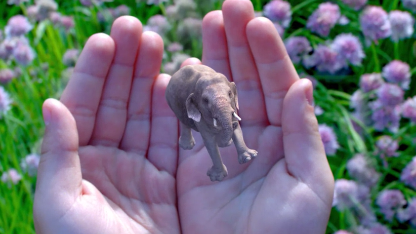 Screenshot aus Magic-Leap-Video