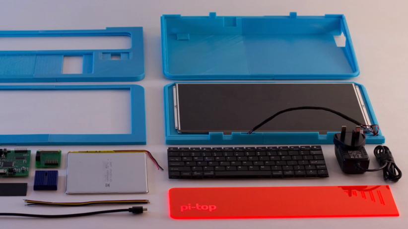 Pi-Top: Das Heimwerker-Notebook