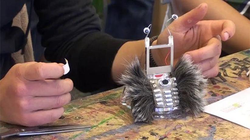 Ein Roboter aus einer früheren Veranstaltung der Schrottküche