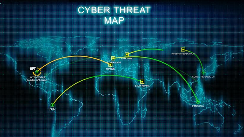 Cyber-Threat-Map