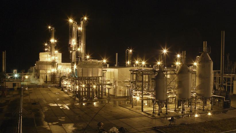 Eine russische Raffinerie des staatlich kontrollierten Konzerns Rosneft