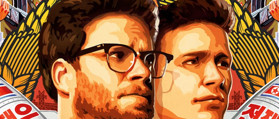"Plakat des kommenden Sony-Films ""The Interview"""