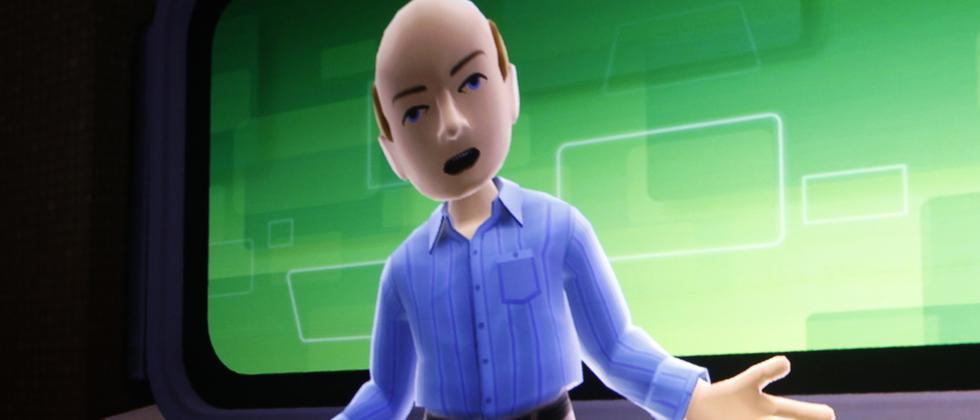 Steve Ballmer als Avatar