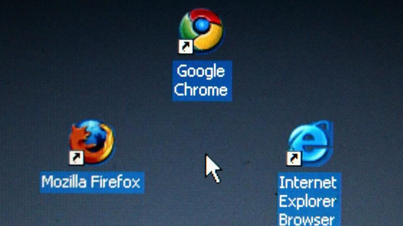 Internet Explorer: Icon des Internet Explorer