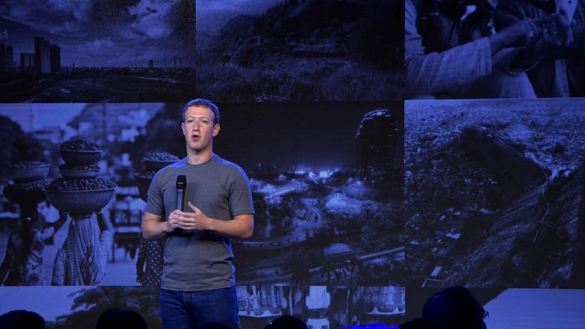Facebook-CEO Mark Zuckeberg stellt Internet.org vor