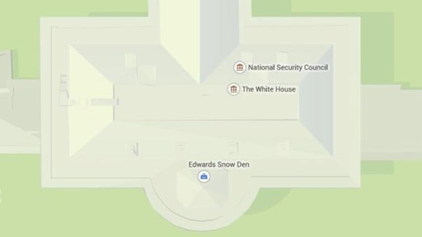 Edwards Snow Den im Weißen Haus